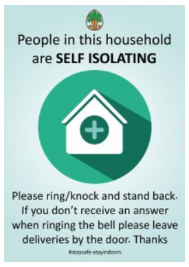Self-Isolation-Poster
